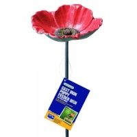 Gardman Poppy Bird Feeder Dish - Cast Iron